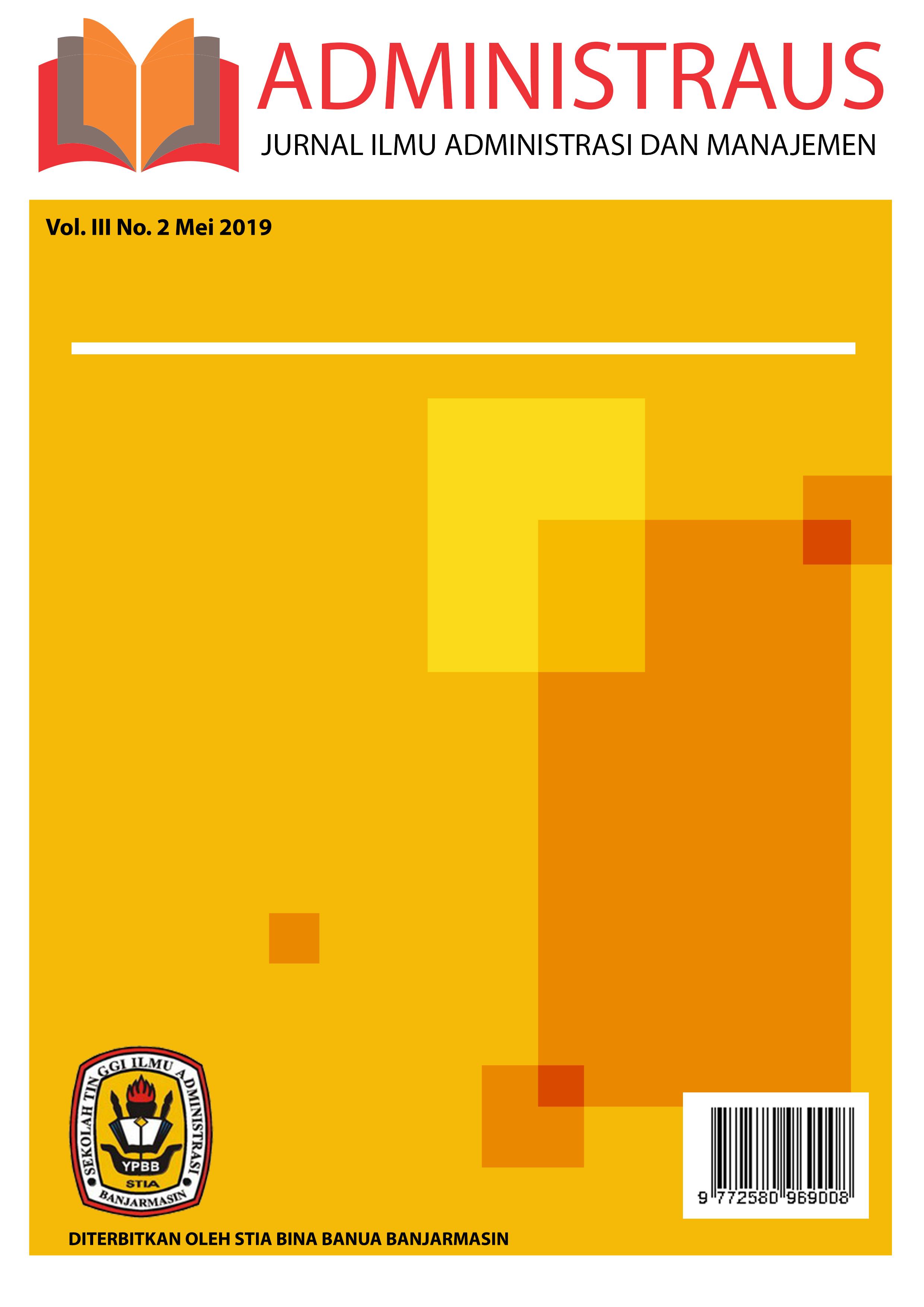 Jurnal Ilmu Administrasi dan Manajemen - Administraus